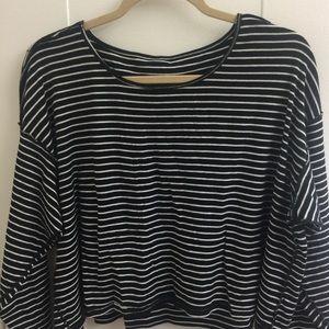 American apparel striped top